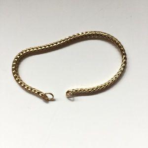 Trollbeads 14k Fox Tail Bracelet